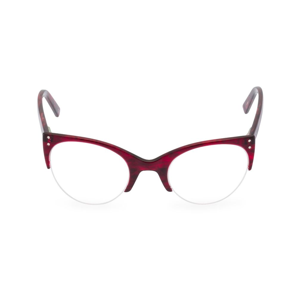 50s repro top quality cat eye half frame glasses ELLA ...