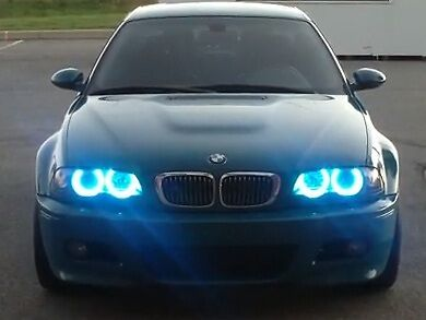 Bmw Angel Eye Halo Light Led Smd E46 E39 E38 E36 Super