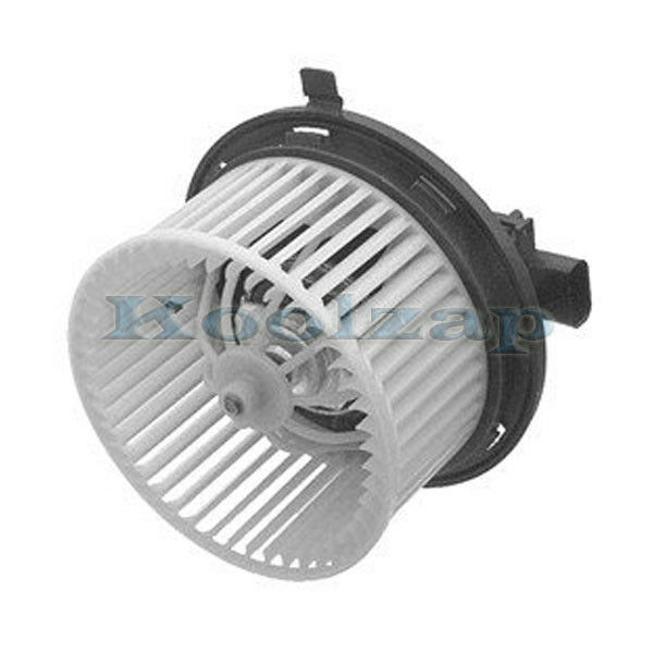Front heater ac a c condenser blower motor assembly w fan for Car ac blower motor