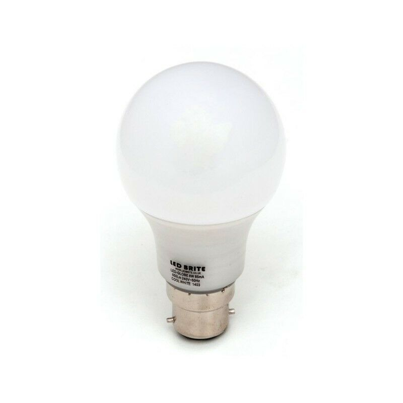 b22 bayonet led cool white warm white light bulb gls style 4 6 8 10 12 watts ebay. Black Bedroom Furniture Sets. Home Design Ideas