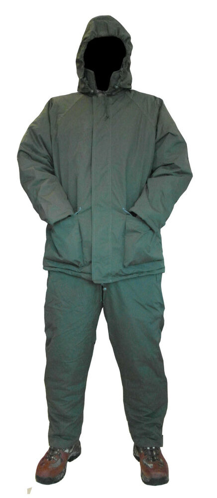 Benelle carp 39 soft touch 39 waterproof 2 pce suits jacket for Waterproof fishing bibs