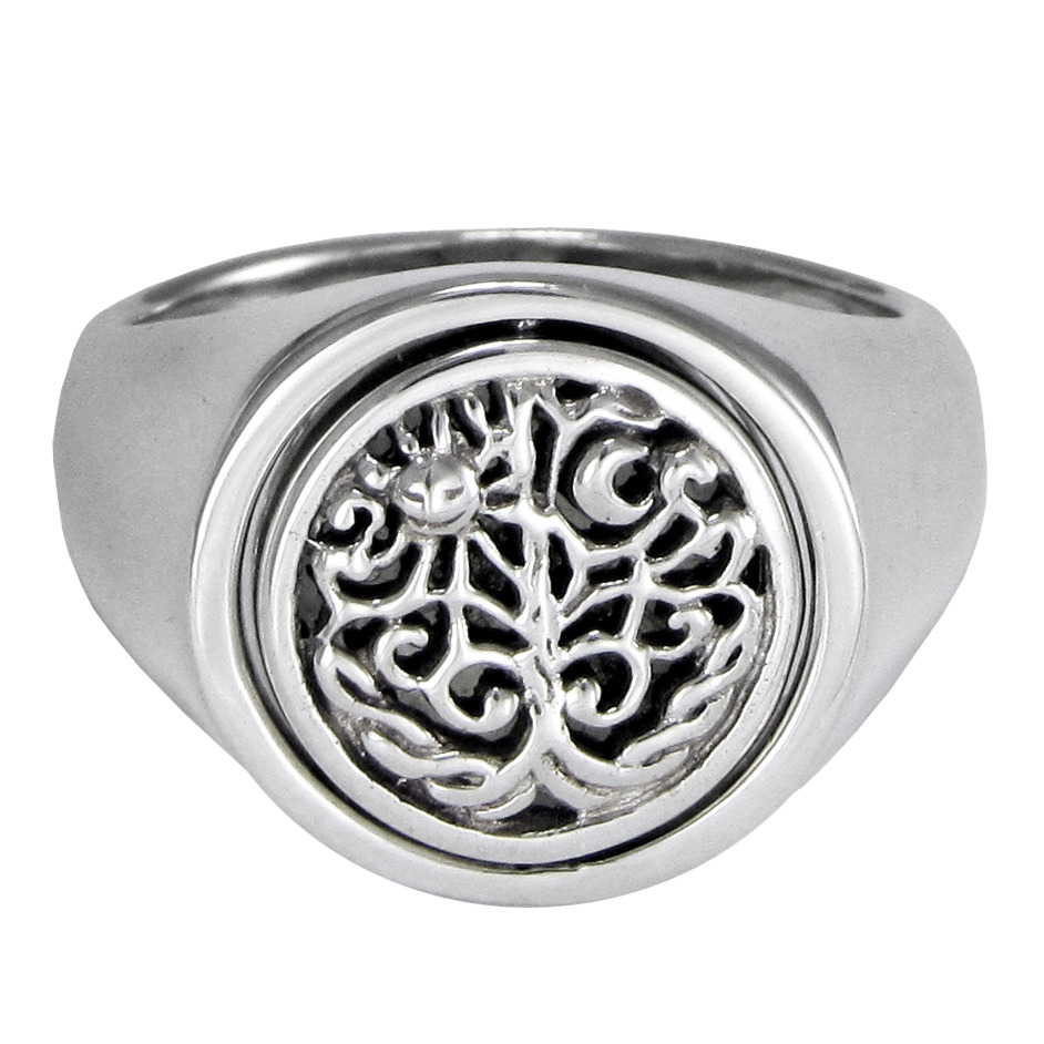 Sterling Silver Rings Tree Of Life