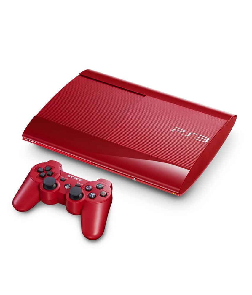 Free Ps3 Console: Limited Edition 12GB Red PS3 Console + Red Controller AUS