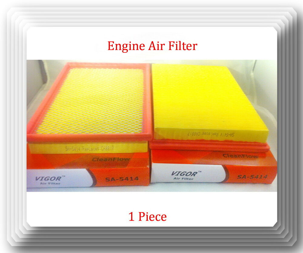5414 Engine Air Filter Fits Jeep Truck Commander Grand
