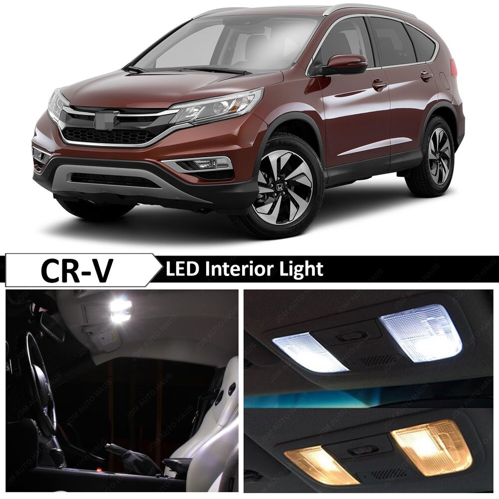 10x white led lights interior package kit for 2013 2015 - 2015 honda accord interior illumination ...