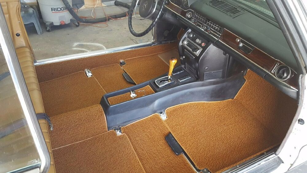 mercedes benz carpet set lhd or rhd coupe w114 250c 250ce