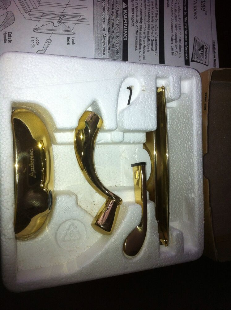 Nib Andersen Brass Hardware Casement And Awning Windows