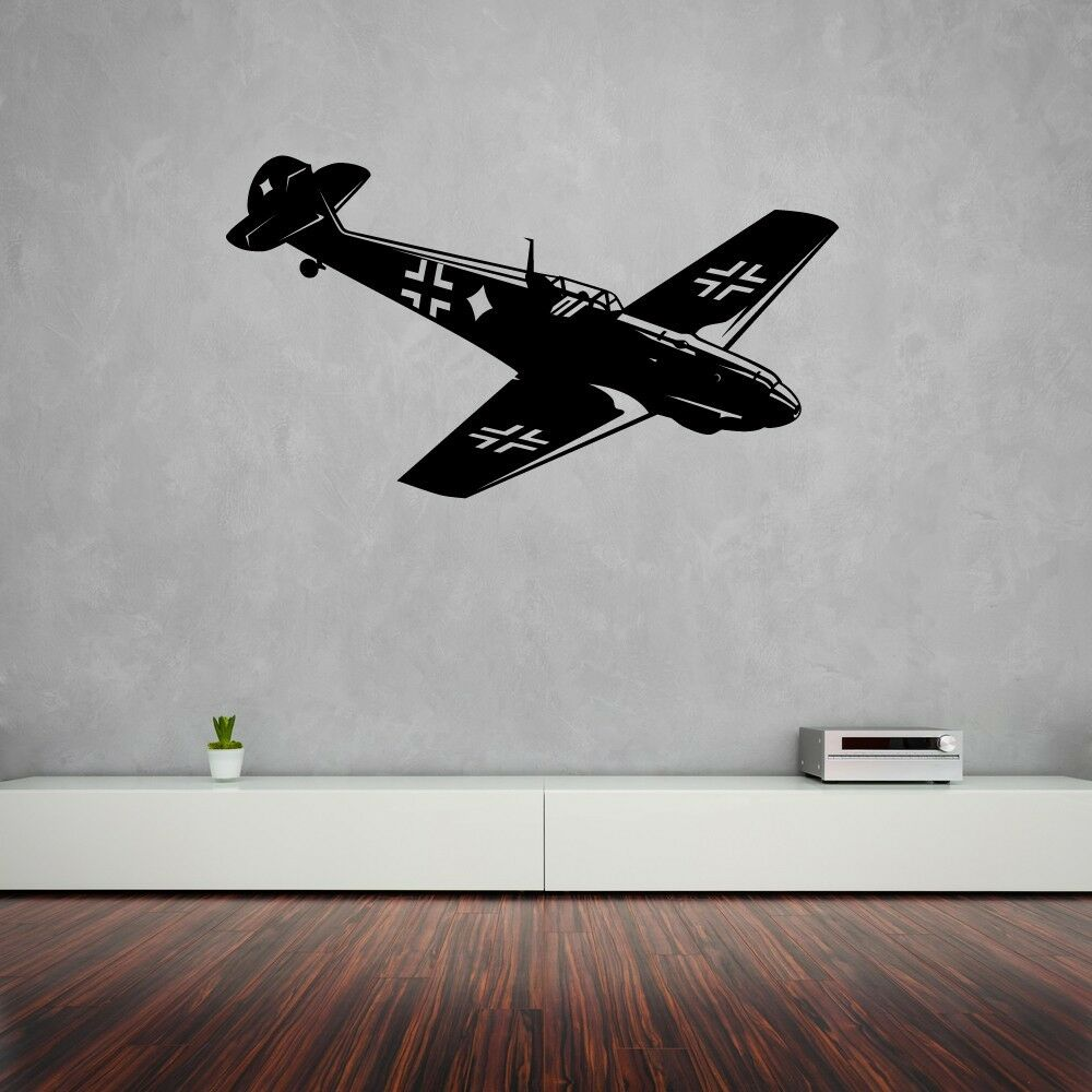 Wall Stickers Vinyl Decal Military Aircraft Aviation Sky