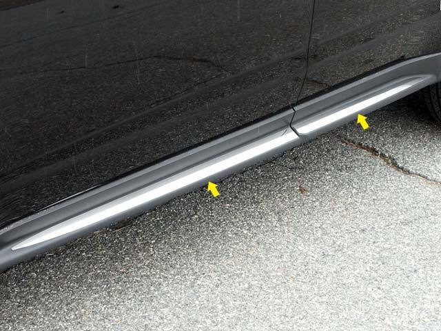 Fits Chevy Equinox 2010 2016 Stainless Chrome Lower Accent