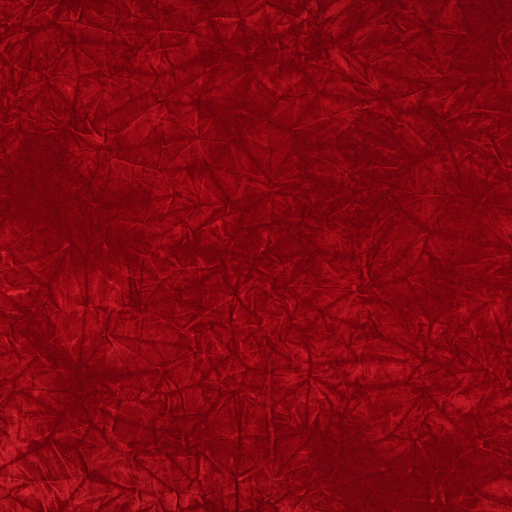 c875 red classic soft crushed durable velvet upholstery fabric by the yard ebay. Black Bedroom Furniture Sets. Home Design Ideas
