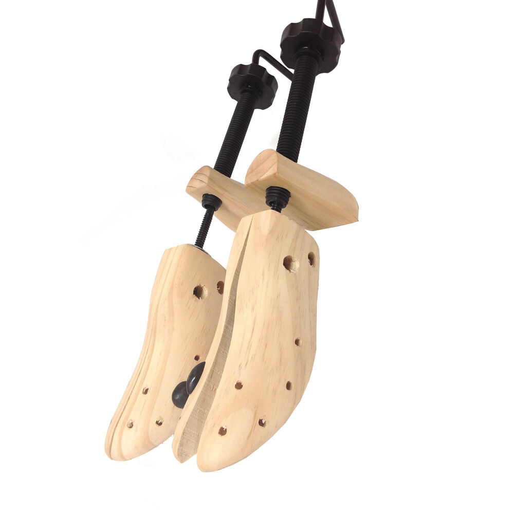 wooden shoe stretchers womens size 5 10 one pair usa