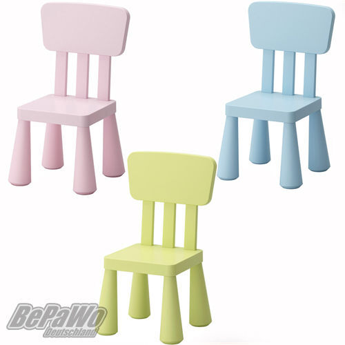 ikea mammut kinderstuhl stuhl sitz kinderzimmer blau rosa gr n neu ovp ebay. Black Bedroom Furniture Sets. Home Design Ideas