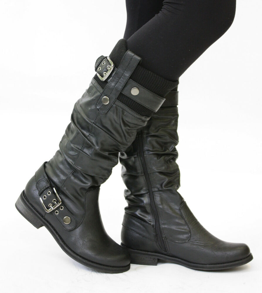 Women's motorcycle boots are designed to do all of the hardcore things that the boots for guys do - only these boots are designed for the anatomical differences of a women's foot. As a whole they will be smaller, but they will also have slightly different shaped foot beds as well as calf and arch supports.