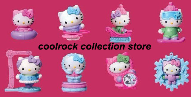 Hello Kitty Toys Set : China mcdonald hello kitty happy meal toys set nip