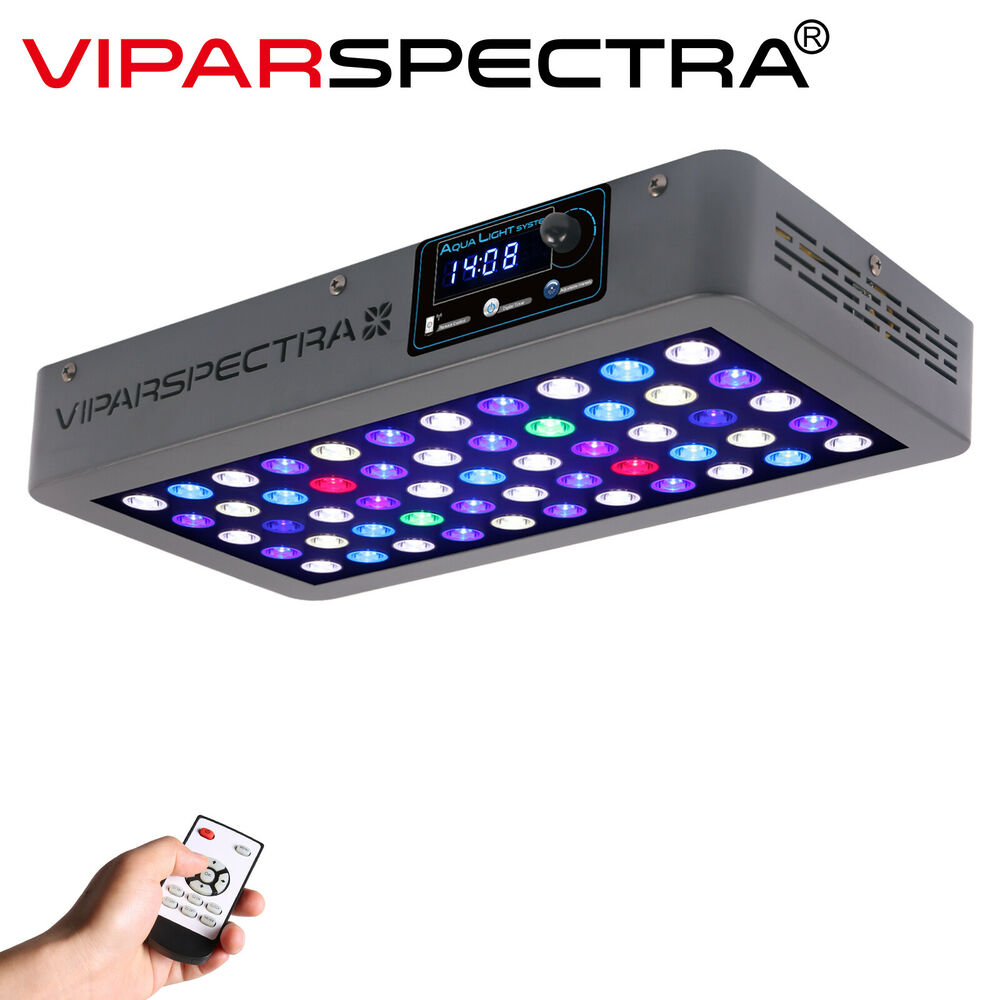 viparspectra timer 165w led aquarium light 87856