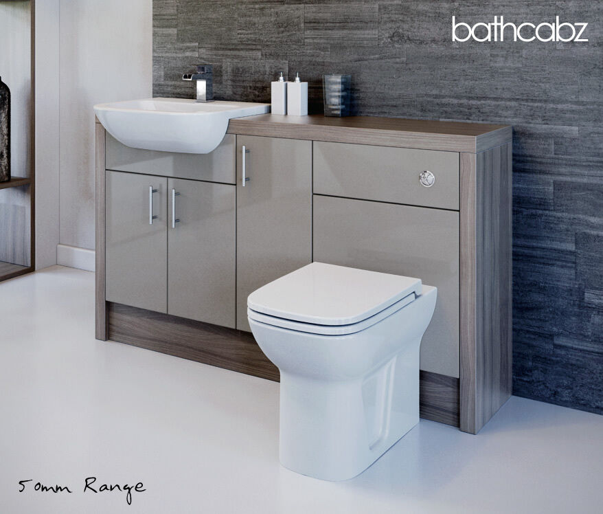 Brilliant Nadia Fitted Bathroom Furniture