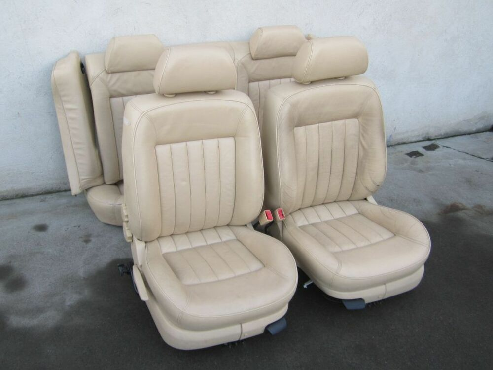 lederausstattung vw passat 3bg w8 limousine beige. Black Bedroom Furniture Sets. Home Design Ideas