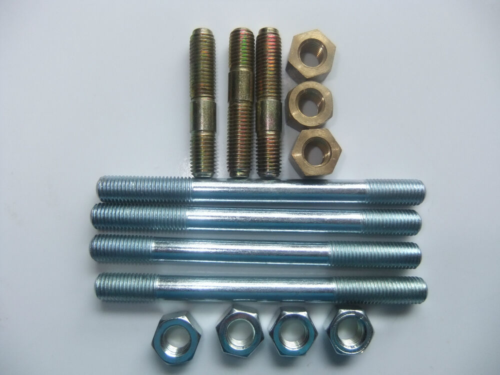 Lighting Basement Washroom Stairs: LANDROVER SERIES 3, 2, 2a, EXHAUST MANIFOLD STUDs & NUTS