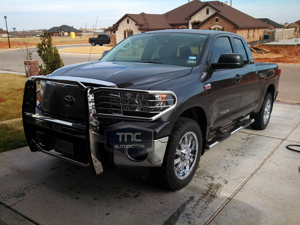Car Bumper Guard >> 2007-2013 Toyota Tundra Brush Guard Stainless Steel Grill Guard | eBay