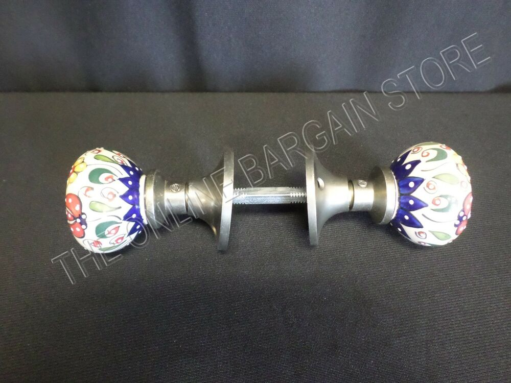 Pottery Barn Home Decor Decorative Door Knobs Hand Painted