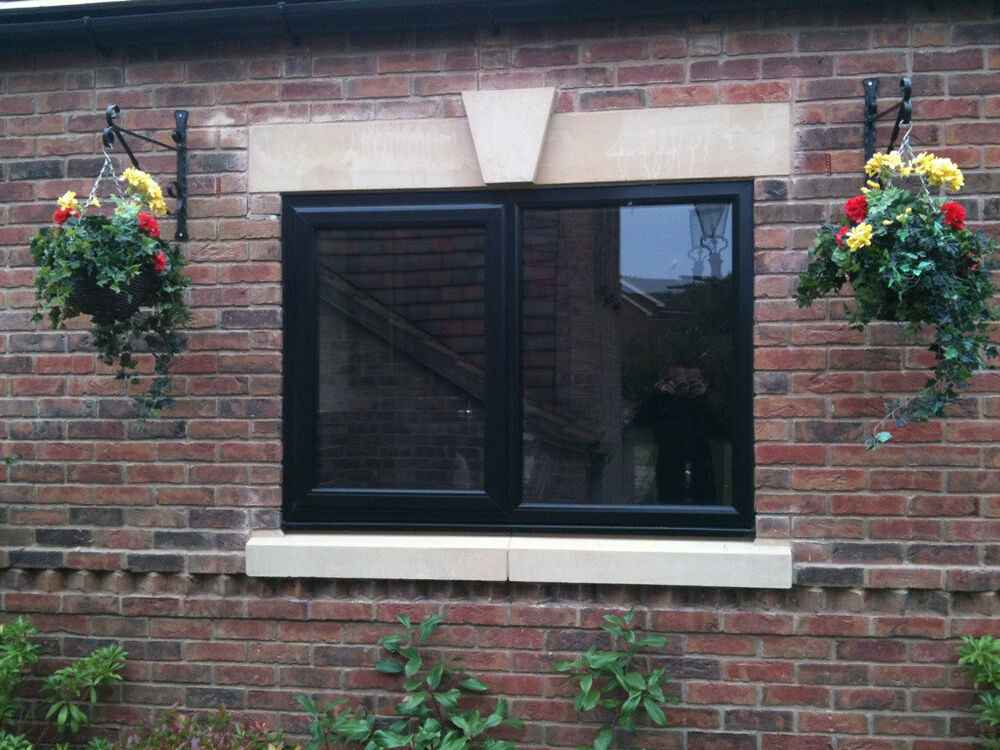 Black On White A Rated Upvc Windows Full House Made To