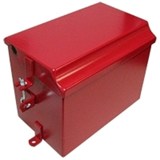 Farmall H Battery : Ih farmall m super md mta battery box new ebay