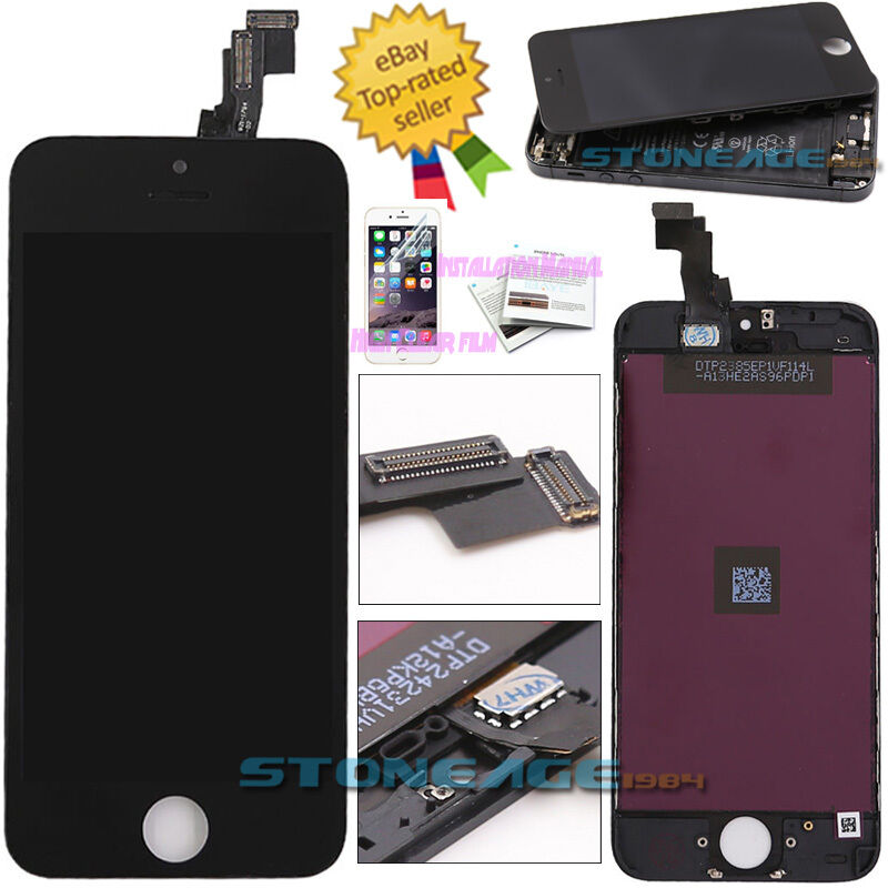 iphone 5c screen went black for iphone 5c black screen lcd display touch digitizer 5776