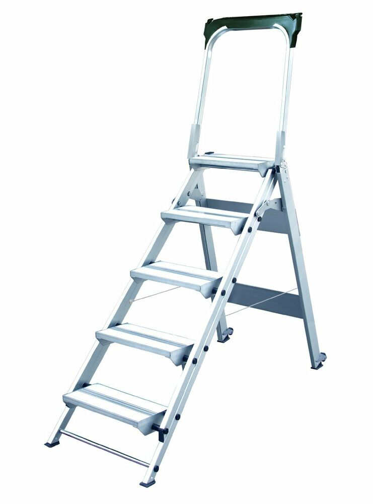 Xtend Climb 5 Step Stool Folding Stepladder Wt 5 Ebay