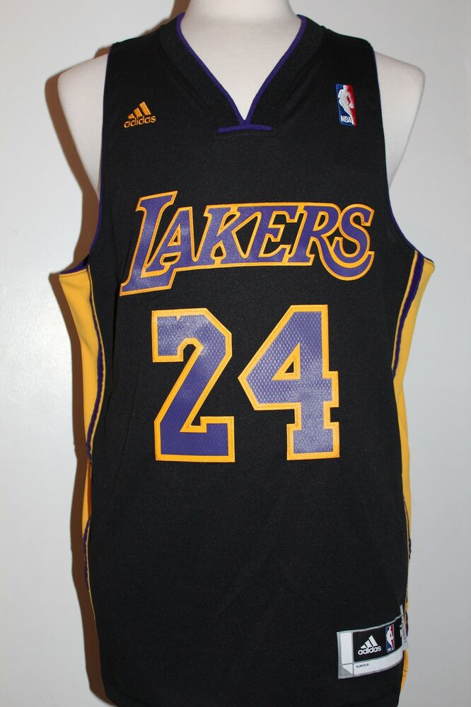 Kobe Bryant Los Angeles Lakers Hollywood Nights Black ...