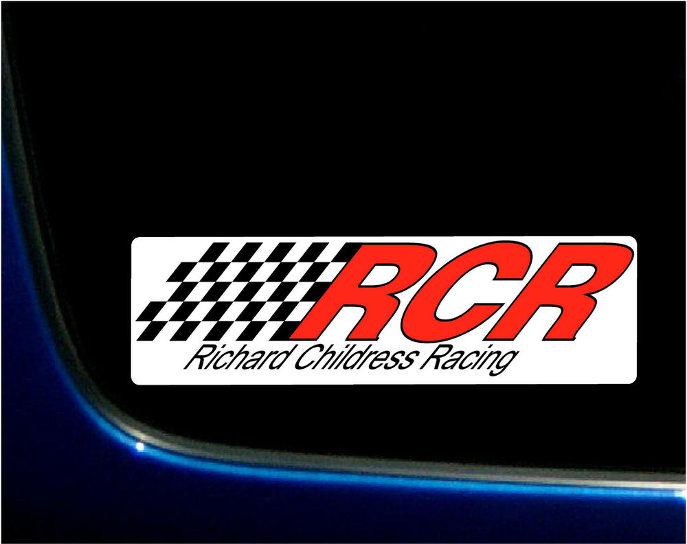 Richard childress racing rcr printed vinyl decal sticker nascar 2 5 x 8 5 ebay