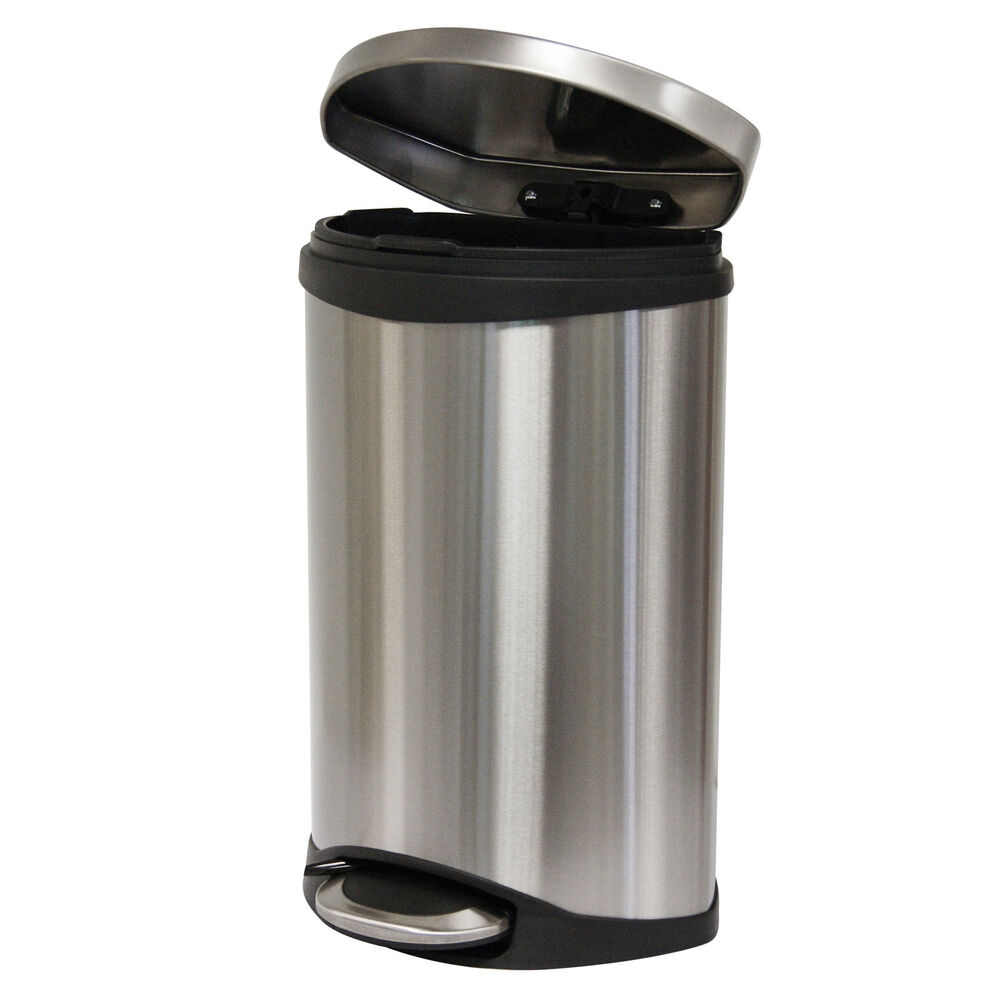 Kitchen Pedal Bins Stainless Steel
