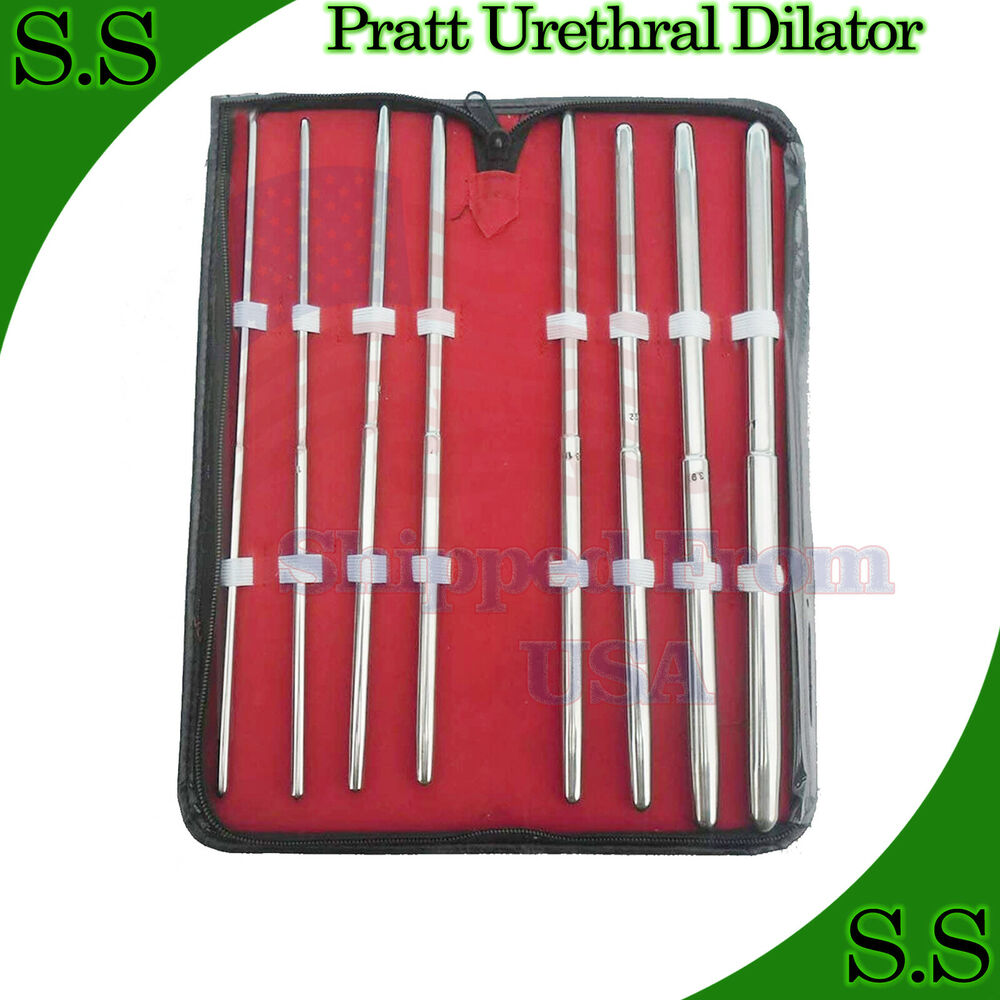 pratt urethral dilator straight surgical instruments ebay. Black Bedroom Furniture Sets. Home Design Ideas