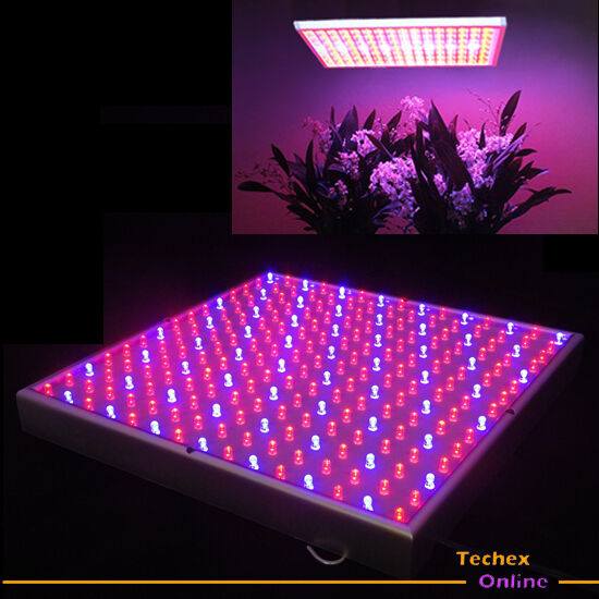 New Blue Red Mixed 225 Led Hydroponic Grow Light Panel