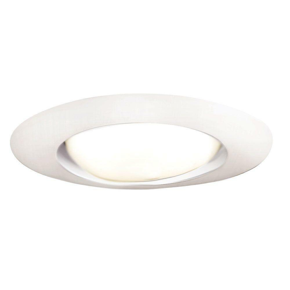 halo 401p 6 in white open recessed lighting trim r40 ebay. Black Bedroom Furniture Sets. Home Design Ideas