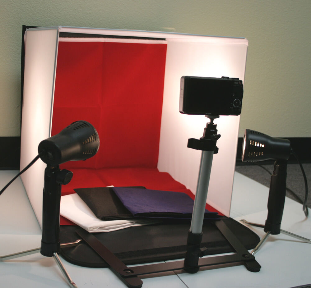 new 50w photo studio 16 photography lighting tent kit. Black Bedroom Furniture Sets. Home Design Ideas