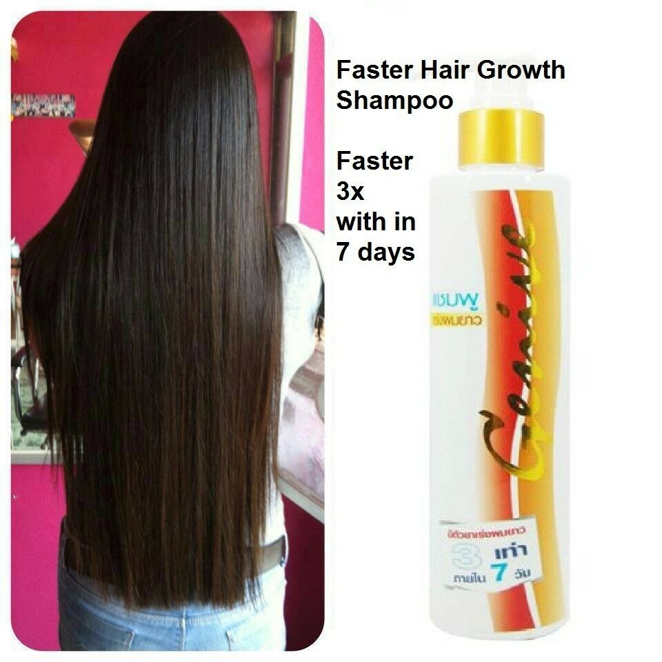 Long Hair Fast Growth Shampoo Genive Helps Your Hair To