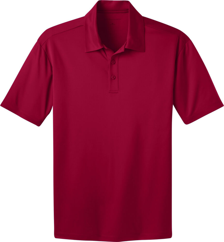 port authority mens big tall silk touch dri fit polo