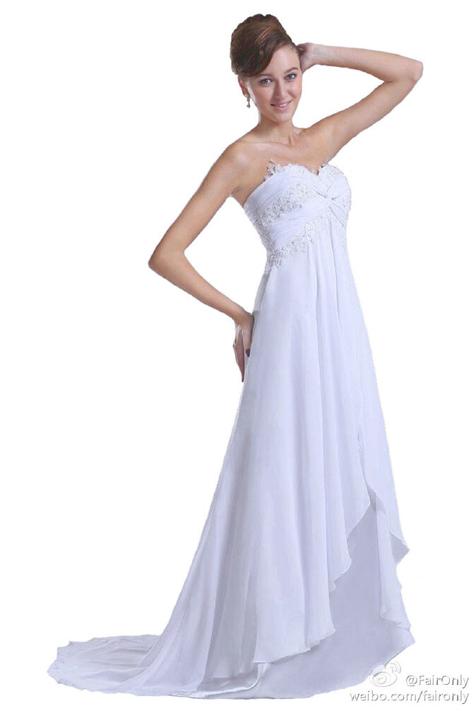 Beach Wedding Dresses Size 16 : Beach sweetheart bridal gown wedding dress size