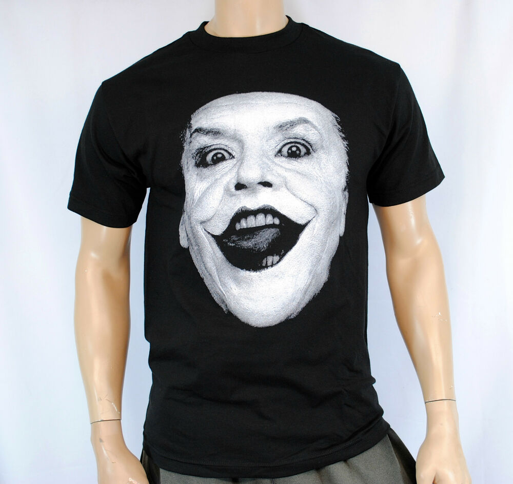 The Joker Jack Nicholson Batman The Dark Knight Rises T