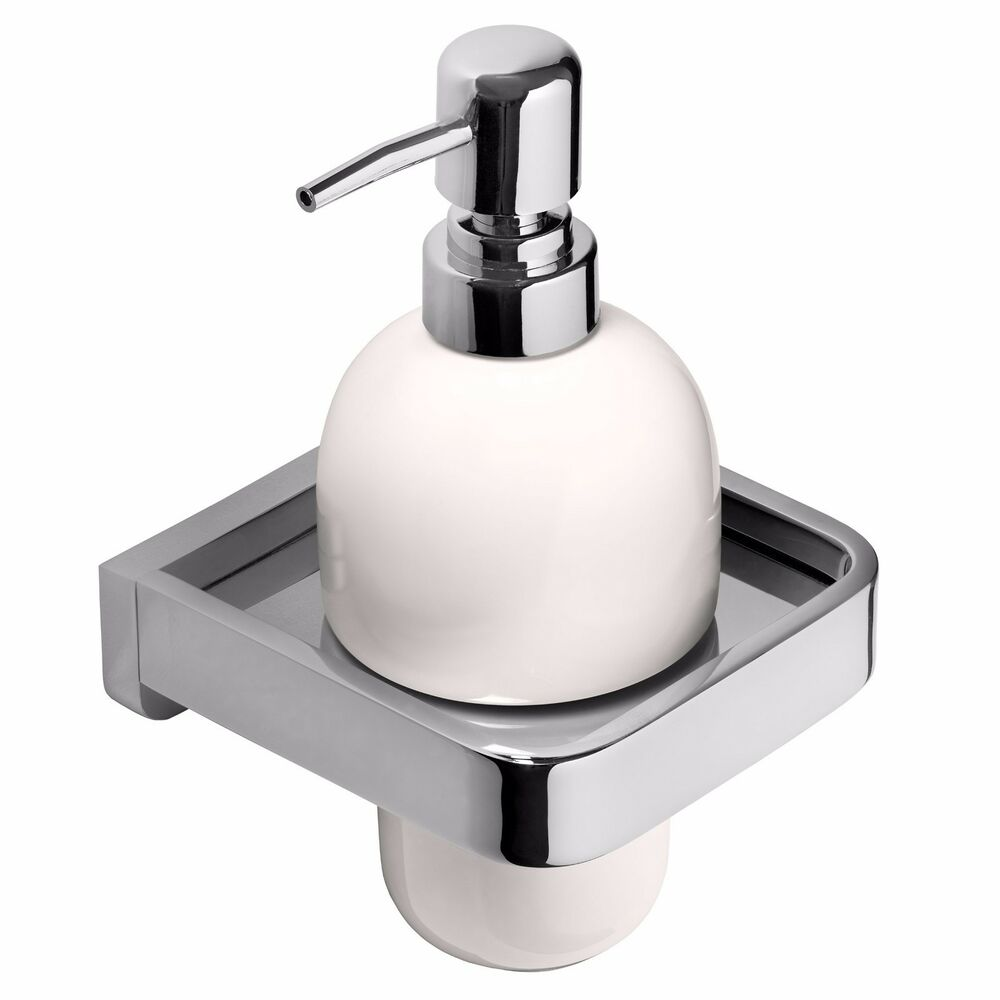Wall Mounted Pump Action Soap Dispenser Bathroom Accessory High Quality Ebay