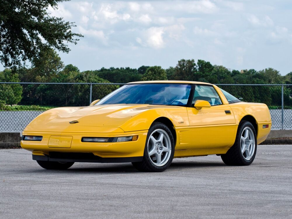 1995 chevrolet corvette coupe blue refrigerator magnet 40 mil ebay. Black Bedroom Furniture Sets. Home Design Ideas