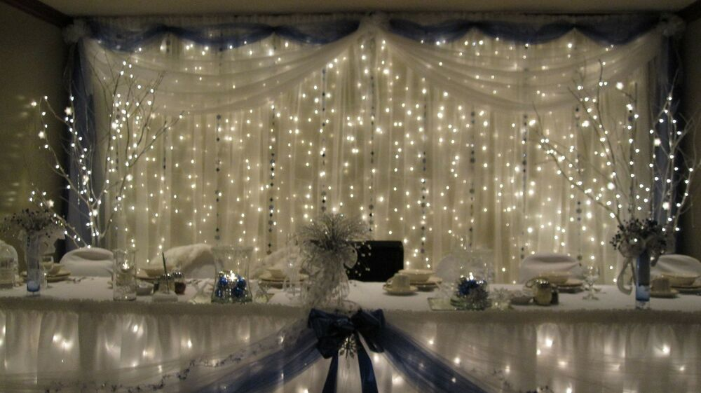 Wedding Decorations Lights And Tulle : Yards Quot Wide White Tulle Wedding  Decorations Favor Wholesale Lot