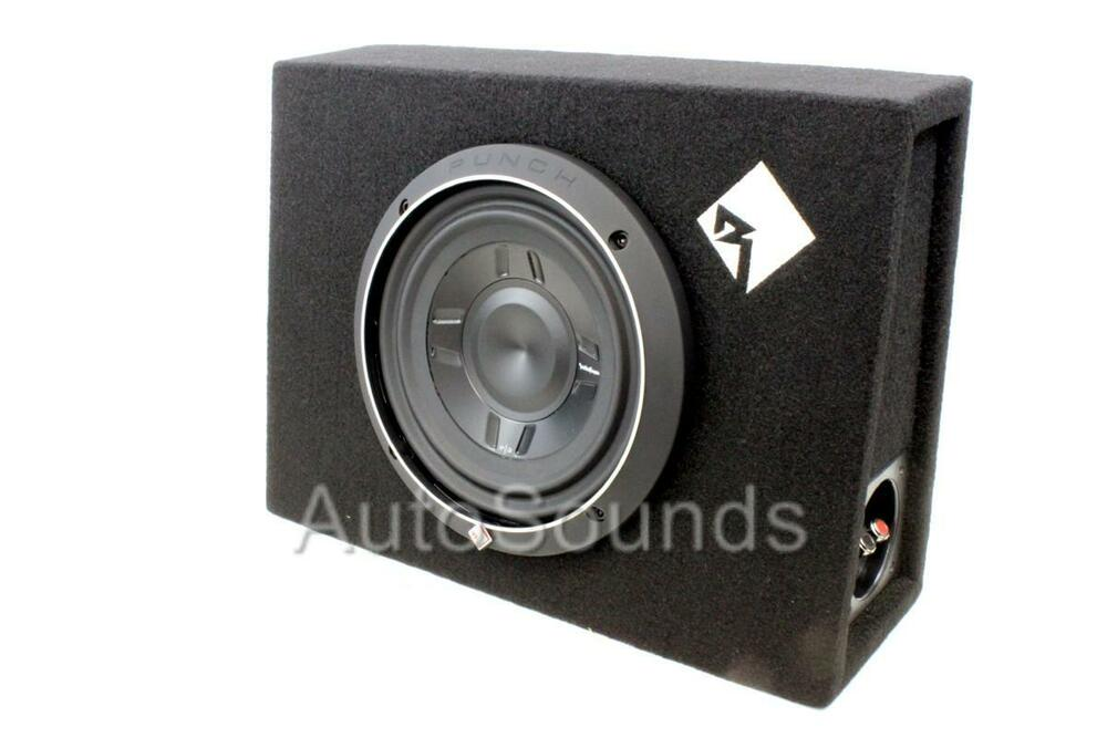 rockford fosgate p3s 1x8 new p3 8 quot  shallow loaded truck subwoofer box enclosure ebay