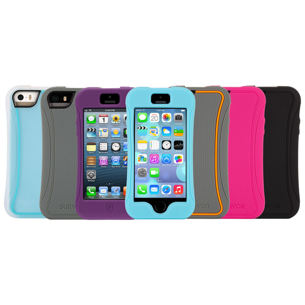 iphone 5s protective cases griffin iphone 5 5s iphone se slim protective 14849