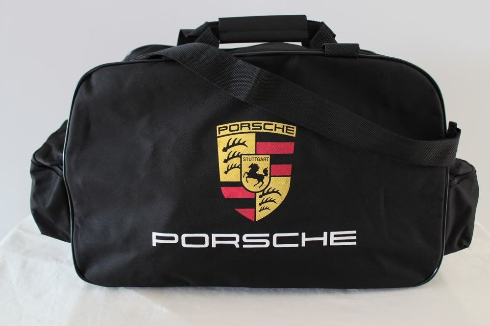 Porsche Travel Gym Tool Duffel Bag 911 944 Cayenne