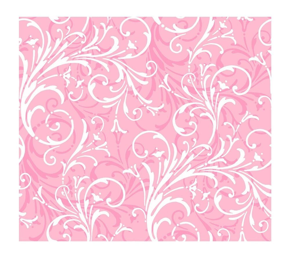 pink white scroll - photo #5