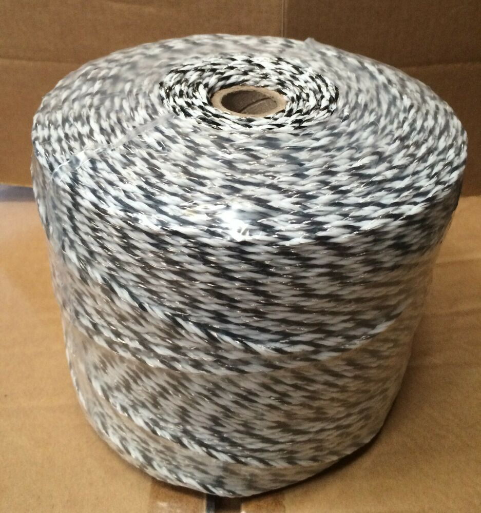 3MM PREMIUM ELECTRIC FENCE POLY WIRE - Fencing 500m Twine Sheep ...