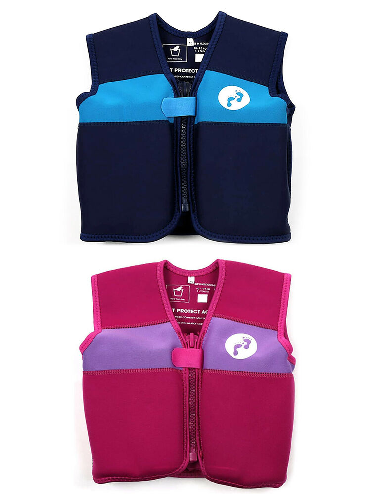 Two Bare Feet Swimming Float Vest Jacket New Baby Kids