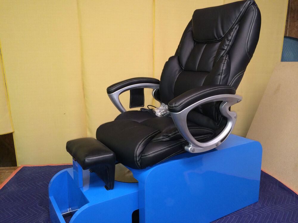 Pedicure chair with massage no plumbing needed amp footsie tub 10