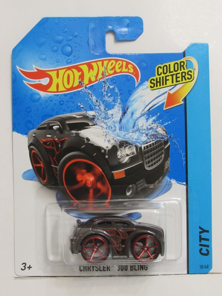 hot wheels city color shifters chrysler 300 bling ebay. Black Bedroom Furniture Sets. Home Design Ideas